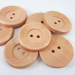 Guziki drewniane 35mm 2580