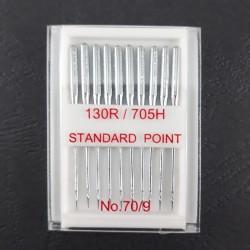 Igły do stębnówki 10szt. Półpłaskie Standard 70 1531