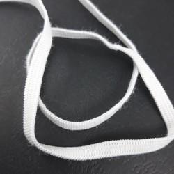Guma 4mm biała czarna Pakiet 100m 2561