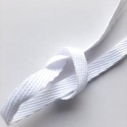 Taśma bawełniana 6mm biała /100m 2586