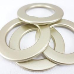 Kółko plastikowe matowe złoto nr 1667