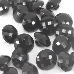 Guziki czarne 11mm/10 lub 144szt 906