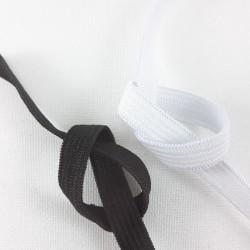 Guma dziana 10mm/50m biel,czerń 2695