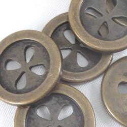 Guziki plastikowe 25mm/10 lub 144szt 2709