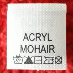 Wszywka skład surowcowy,przepis prania AKRYL 2781