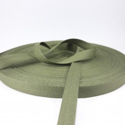 Taśma bawełniana jodełka 10mm / 50m 2822