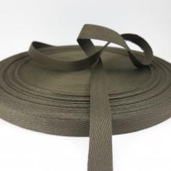 Taśma bawełniana jodełka 10mm / 50m 2823