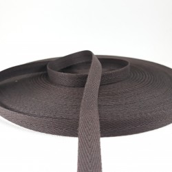 Taśma bawełniana jodełka 10mm / 50m 2824
