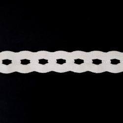 Guma bieliźniana 15mm/1m 2836