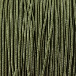 Guma okrągła zieleń 1mm 5 lub 50mb nr.522