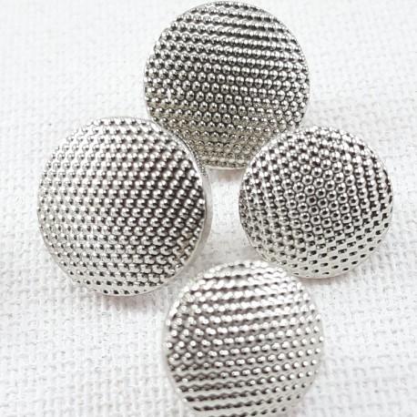 Guzik plastikowy 10mm,8,5mm/144szt srebrny 2863 - 12664