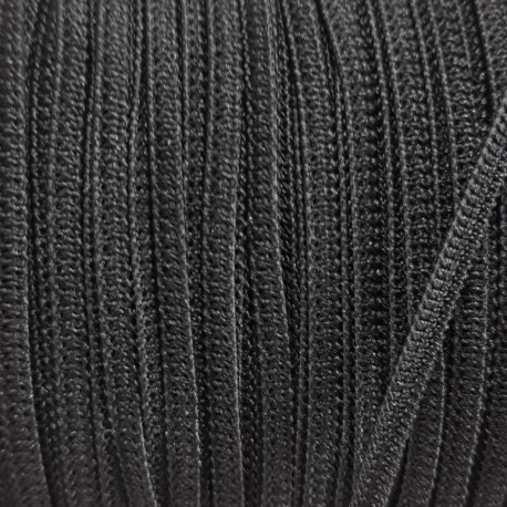 Guma 3mm /200m czarna,płaska 2875 - 12794