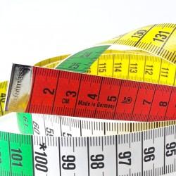 Centymetr 150cm kolorowy 2890