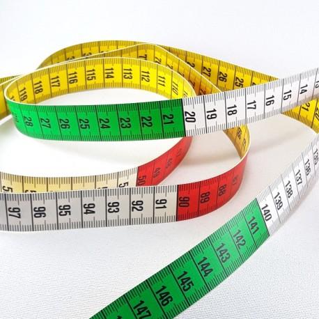Centymetr 150cm kolorowy 2890 - 12969