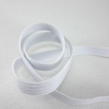 Guma w oplocie 4mm/100m biała 2891 - 12976
