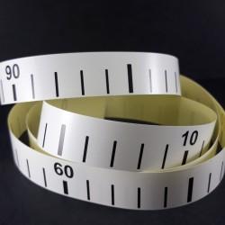 Centymetr krawiecki samoprzylepny 100cm/1 lub 10szt 0020