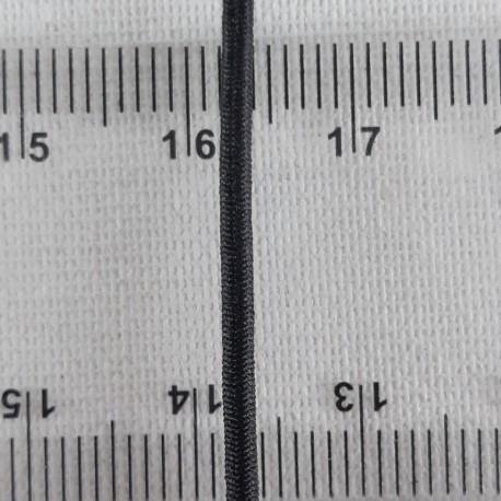 Guma okrągła 2mm/100m czarna 2936 - 13495