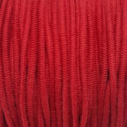 Guma okrągła 2mm/100m czerwony 2937