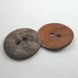 Guzik z naturalnej muszli Pakiet 10szt. 18mm nr.752