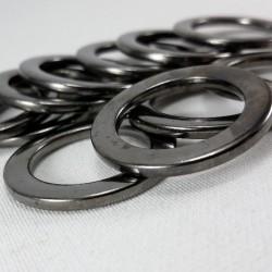 Kółko metalowe 20mm/100szt ciemny nikiel 1472