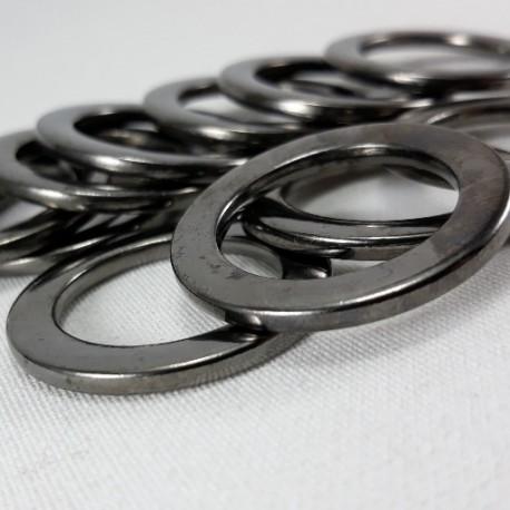 Kółko metalowe 20mm/100szt ciemny nikiel 1472 - 14395