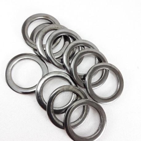 Kółko metalowe 20mm/100szt ciemny nikiel 1472 - 14396