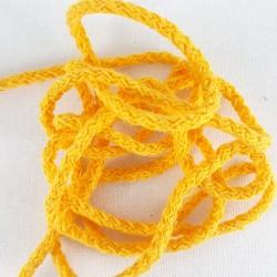 Sznurek bawełniany 3mm/100m żółty 3029