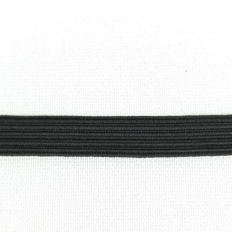Guma w oplocie 7mm/100m czarna 3056 - 14827