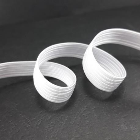 Guma w oplocie 10mm/100m biała 3058 - 14836