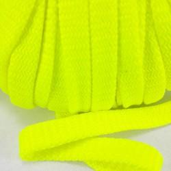 Sznurek poliestrowy płaski ostry żółto -zielony 12mm/50 m 3078