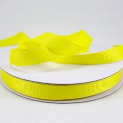 Taśma rypsowa 10mm/30yard żółty 3091