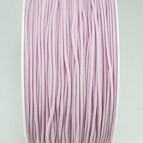 Guma okrągła blady róż 1mm/ 5 lub 50mb 3114 - 15302