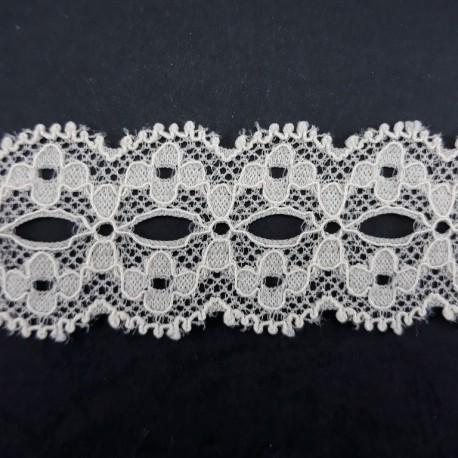 Koronka elastyczna 26mm/1m ecru 3127 - 15397
