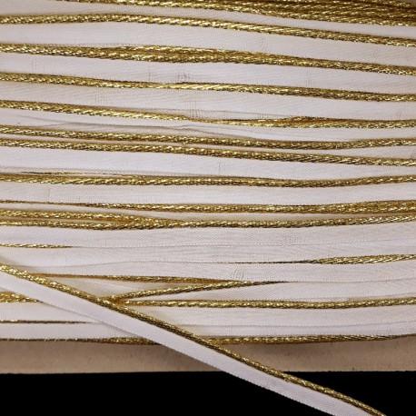 Lamówka -wypustka złota Pakiet 5m 501 - 15457