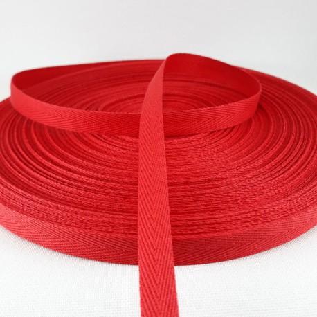 Taśma bawełniana jodełka 10mm / 50m 3207 - 16077