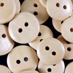 Guziki drewniane 13,5mm i 15mm /10 lub 100szt 561