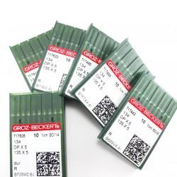 Igły przemysłowe do stębnówki 60 /10szt tkanina 3259