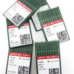 Igły do stębnówki przemysłowej 90 /10szt tkanina 3262