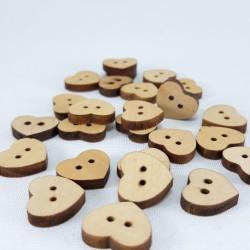 Guzik drewniany 13mm x 14mm/10szt 3292