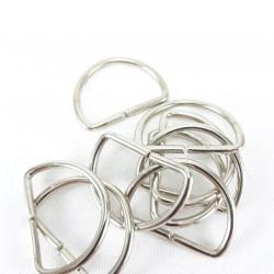 Półkółko metalowe 30mm/10 lub 100szt 3301