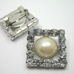 Broszka ozdobna z perłą nr 776