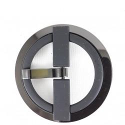 Klamra metalowa 50mm czarna 3358
