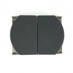 Klamra metalowa 50mm czarna 3359