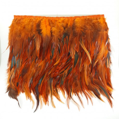 Pióra na taśmie rude - 17998