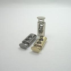 Stoper metalowy dwudziurkowy nr: 1104