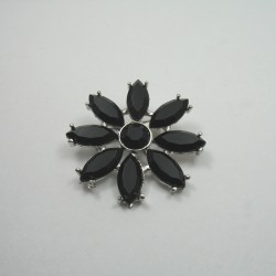 Ozdobna broszka - metalowa nr: 1288