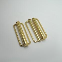 Zapięcie metalowe, złote nr 975
