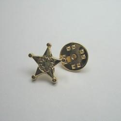 Przypinka metalowa Nożyczki nr 973