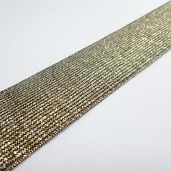 Guma ozdobna złota 20 i 40mm 1m.b. nr: 1722