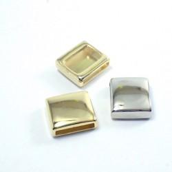 Metalowa przelotka złota nr 1729